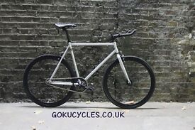 Special Offer GOKU CYCLES Steel Frame Single speed road bike TRACK bike fixed gear fixie bike F1
