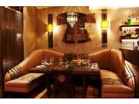 RECRUITING EXPERIENCED WAITING STAFF TO START ASAP, EXCELLENT PAY ££££