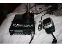 CB Radio - COMPLETE KIT - MIDLAND - Alan 78 Plus Multi