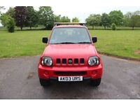 REDUCED!! 2003 SUZUKI JIMNY JLX RED