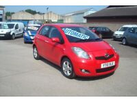 TOYOTA YARIS 5 DOOR AUTOMATIC ONLY 35k MILES FULL HISTORY 12 MONTHS MOT