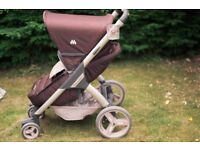 The Best Puschchair + Carrycot with All Accesories - Maclaren Grand Tour LX