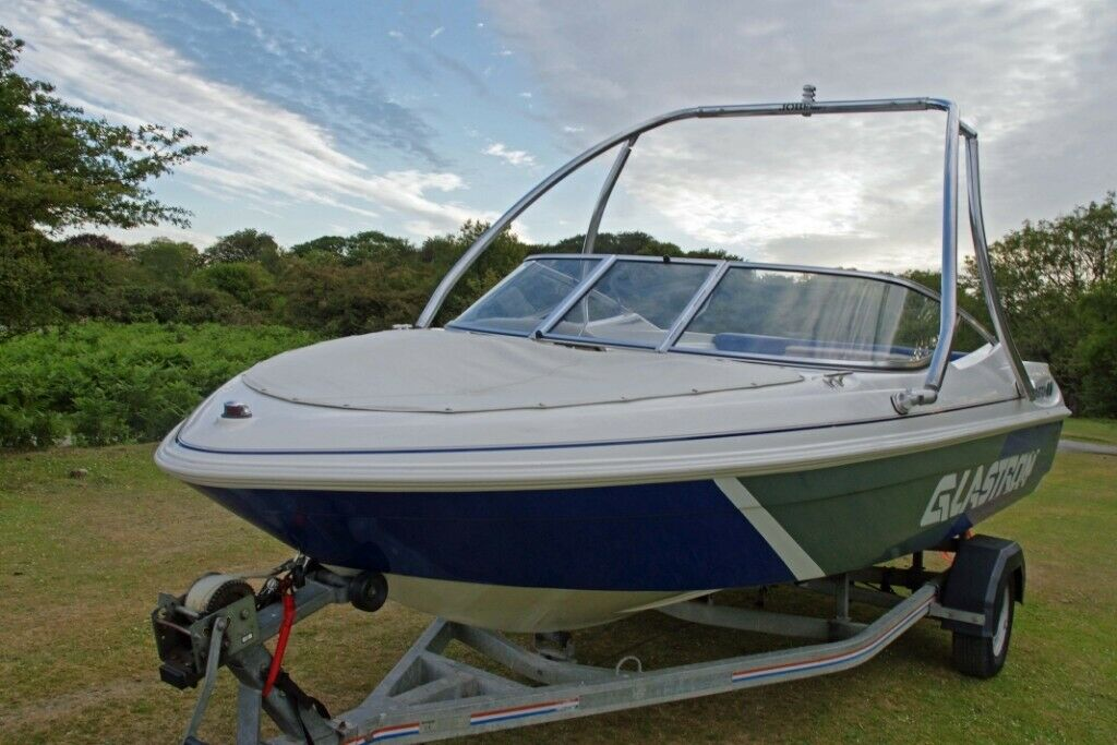 GLASTRON SX 175 3 0L 135HP VOLVO BOWRIDER WAKEBOARD SKI FISHING BOAT 17 5FT  | in Yelverton, Devon | Gumtree