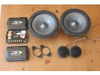 Alpine SPR-17S Component speakers