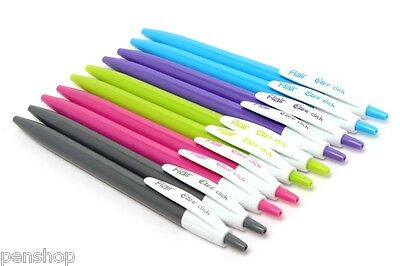 Wholesale 100 Pc Flair Ezee-click Ballpoint Pen Retractable Button Mechanism New