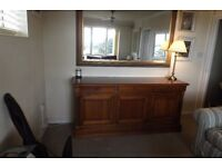 SIDE BOARD QUALITY CHERRYWOOD 6ft SIDEBOARD EXCELLENT ORDER.