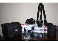 Canon 40D DSLR camera, Canon EFS 17-85mm lens, Canon BG-E2N battery grip immaculate condition bundle