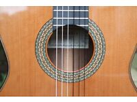 WANTED HANDMADE CLASSICAL GUITAR