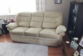 3 Seater Sofa in Vgc £150 or VNO