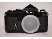 TWO AVAILABLE! NIKON F2 VINTAGE FILM ANALOGUE PROFFESIONAL CAMERA! FULLY WORKING! OPEN TO OFFERS!?!?