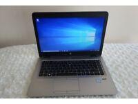 RRP £1643 - HP EliteBook Laptop 840 G3 Intel Core i7 14 Inches 16GB RAM 256GB SSD, Warranty, Win 10