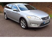 2009 Ford Mondeo Titanium 2.0 TDCI 140bhp Estate, High Spec, FSH Recent new Dual Mass Clutch