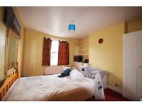 Large bright double bedroom, double glazing and central heating, single person all bills inc