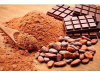 What are the health benefits of cacao powder and organic food?