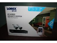 LOREX 1080P 4 CHANNEL HOME SECURITY CAMERAS NEW