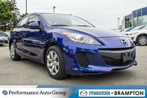 2013 Mazda MAZDA3 GX|KEYLESS|MP3|BUCKETS|PWR STEERING|CD