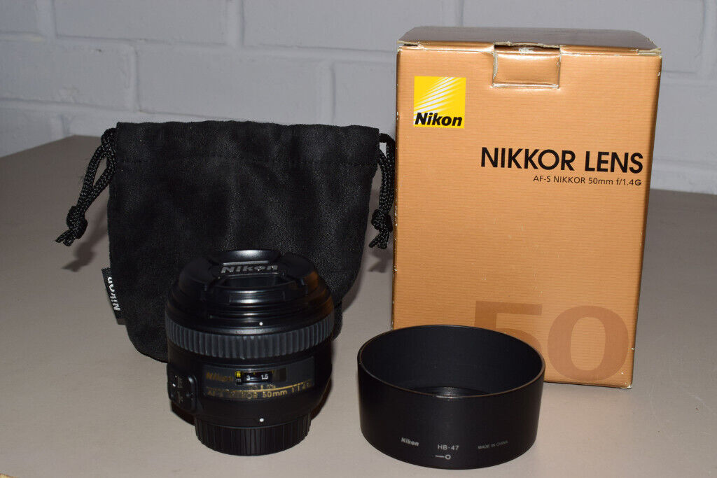 Nikon Lens 50mm 1 4 G AFS | in Birstall, Leicestershire | Gumtree