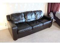 Large comfortable 3 seat sofa (210cm length)