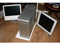 Apple imac and g5 plus monitor