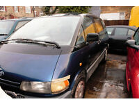 Toyota PREVIA FOR SPARE OR REPAIRE.