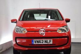 VOLKSWAGEN UP 1.0 MOVE UP 3d 59 BHP (red) 2012
