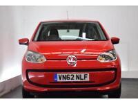 VOLKSWAGEN UP 1.0 MOVE UP 3d 59 BHP (red) 2012