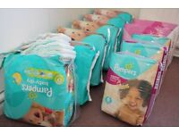 12x Packs Pampers Baby Dry + Active Fit Nappies - Size 6 (15+ kg) From approx age 3yrs