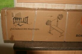 Everlast weight bench new in box OFFERS WELCOME