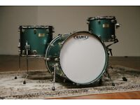 Mapex Orion Classic | 13, 16 and 22 | Caddy Green With Gold Lugs | Saturn Tama Pearl Yamaha