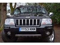 *Auto* 2003 Jeep Grand Cherokee *Automatic* Full MOT. 4x4 Diesel low mileage!