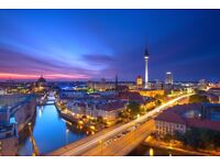 3 return flight tickets Dublin - Berlin 29.DEC - 01.JAN