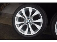 BMW X5 V 20 INCH V SPOKE ALLOYS FOR SALE
