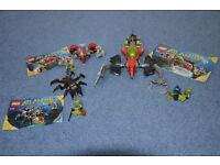 Lego Atlantis Monster Crab Clash 8056 Wreck Raider 8057 Seabed Scavenger 8059