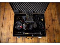 Dedolight Kit 3x DLH4 150W with dimmer unit, stands, case + more - Dedo Lights Dedos Lighting
