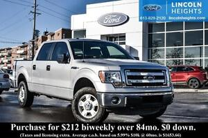 2014 Ford F-150 XLT CREWCAB 4x4 5.5 BED - BLUETOOTH - TAILGATE S