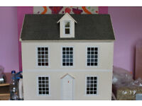 Dolls house and dolls furniture for sale