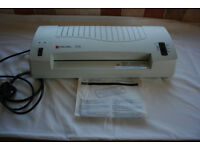 Rexel LP30 Personal Laminator with Laminating Pouches
