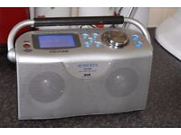 ROBERTS DAB STEAM202 WIFI INTERNET FM RADIO/AUXIN PLAY IPODPHONE