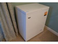 Chest Freezer Bush 142 litres, as new, white. Hardly used. All packaging & documents.