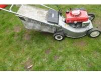petrol lawnmower honda hr194