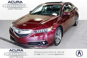 2015 Acura TLX SH-AWD ELITE 0.9% 60 MOIS+CUIR+TOIT+NAVI+BLUETOOT