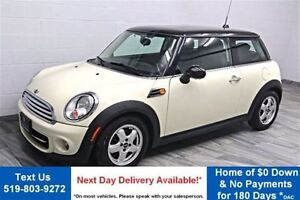 2011 MINI - LEATHER! POWER PACKAGE! KEYLESS ENTRY! CRUISE CONT