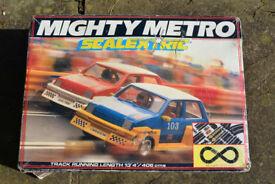 Scalextric Mighty Metro complete set