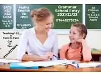 GCSE MATHS (English/Science) Tutor for KS1, KS2, KS3 - Face-2-Face & 11 Plus (11+), VR, NVR