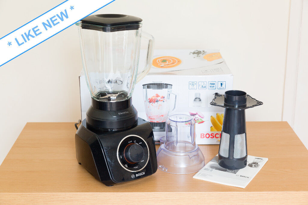 Bosch SilentMixx Food Blender  Like New   967234ebb5c