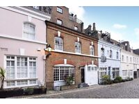 A charming three bed Mews house, Ennismore Garden Mews SW7