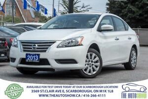 2013 Nissan Sentra One Owner - No Accidents