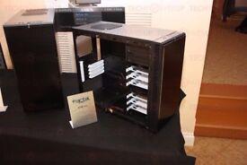 Fractal Design Define mini pc case Black no power supply no case fans