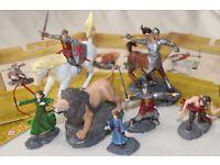 4x CHRONICLES OF NARNIA figure packs 2005 HASBRO (Lion Witch Wardrobe) incl ASLAN / CENTAUR