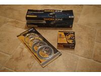 Workzone 1200W Angle Grinder + 4 Dimond Cutting Discs + 11 Cutting & Grinding Discs